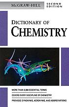 McGraw-Hill dictionary of chemistry.