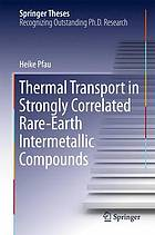 Thermal Transport in Strongly Correlated Rare-Earth Intermetallic Compounds.