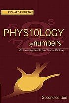 Physiology by Numbers : an Encouragement to Quantitative Thinking.