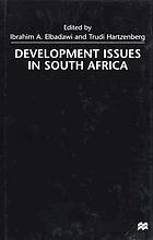 Development issues in South Africa