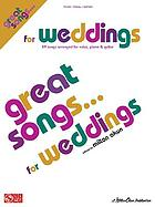 Great songs-- for weddings
