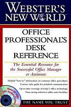 Webster's new world office professionals' desk reference
