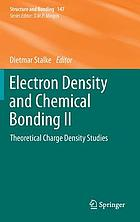 Electron density and chemical bonding II : theoretical charge density studies