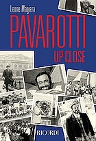 Pavarotti up close