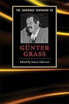 The Cambridge companion to Günter Grass