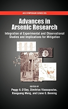 Advances in arsenic research : integration of experimental and observational studies and implications for mitigation