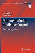 Nonlinear model predictive control : theory and algorithms
