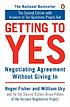 Getting to yes : negotiating agreement without... by  Roger Fisher