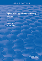 Spectroscopy in Biochemistry : Volume II.