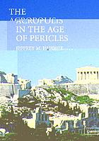 The Acropolis in the Age of Pericles cover image