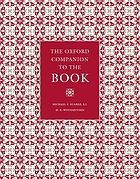 The Oxford companion to the book Vol. 1. Essays A - C