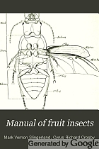 Manual of fruit insects
