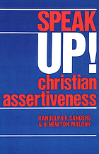 Speak up! Christian assertiveness