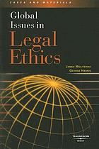 Global issues in legal ethics