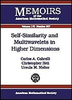 Self-similarity and multiwavelets in higher dimensions
