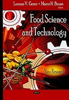 Food science and technology : new research
