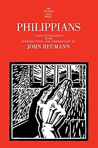 Anchor Bible. Vol. 33B, Philippians : a new translation
