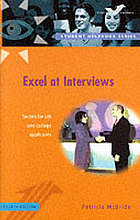 Excel at interviews