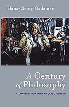 A century of philosophy