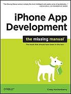 IPhone app development : the missing manual