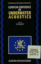 European Conference on Underwater Acoustics