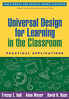 Universal design for learning in the classroom : practical applications