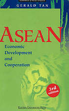 ASEAN economic development and cooperation