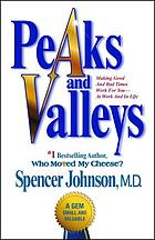 Peaks and valleys : making good and bad times work for you--at work and in life