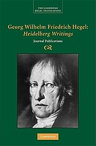 Heidelberg writings : journal publications