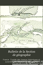Bulletin de la Section de géographie.