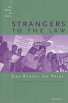 Strangers to the law : gay people on trial