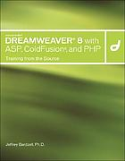 Macromedia Dreamweaver 8 with ASP, Coldfusion and PHP : training from the source