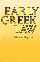 Early Greek Law cover image