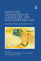 Affective landscapes in literature, art and everyday life : memory, place and the senses