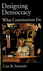Designing democracy : what constitutions do