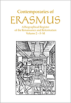 Contemporaries of Erasmus. 2, F-M