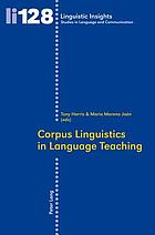 Corpus linguistics in language teaching