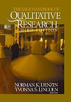 SAGE Handbook of Qualitative Research cover image