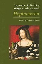 Approaches to teaching Marguerite de Navarre's Heptameron