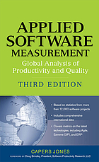 Applied software measurement : global analysis of productivity and quality