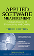 Applied software measurement : global analysis... by  Capers Jones