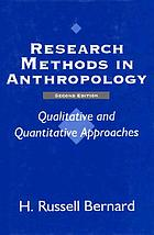 Research methods in anthropology : qualitative and quantitative approaches