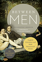 Between men : English literature and male homosocial desire
