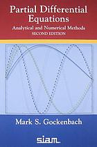 Partial differential equations : analytical and numerical methods