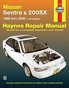 Nissan Sentra & 200sx automotive repair manual