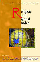 Religion and global order