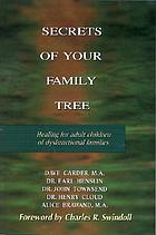 Secrets of your family tree : healing for adult children of dysfunctional families