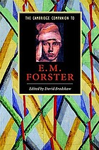 The Cambridge companion to E.M. Forster
