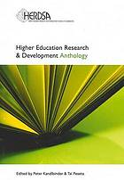 Higher education research & development anthology