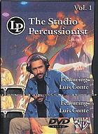 The studio percussionist. / Vol. 1
